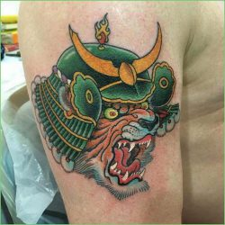 Craig Ridley Tattoo Workshop Samurai Tiger Japanese